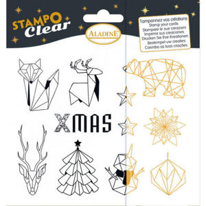 Stampo Clear, Origami