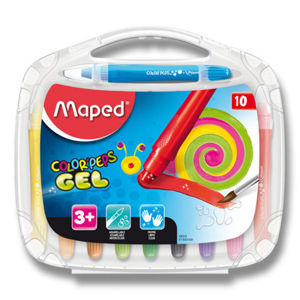 Gelové pastely Maped Color'Peps Gel - 10 barev