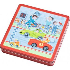 Magnetická hra - závodní auta