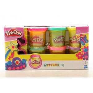 Play-Doh - Třpytivá sada se 2 vykrajovátky