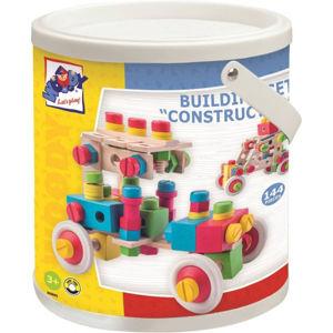 Constructor -  Montážní stavebnice v kyblíku - 144 ks