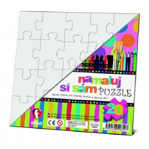 Namaluj si sám puzzle - čtverec