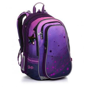 Velký školní set Topgal LYNN 20008 G batoh + penál + pytlík na přezůvky + pláštěnka