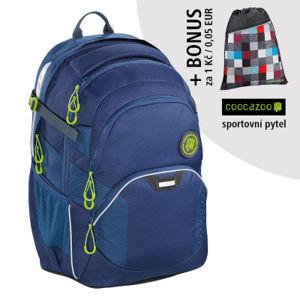Školní batoh Coocazoo JobJobber2, Solid Seaman + sportovní pytel za 1 Kč