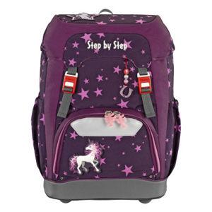 Školní batoh GRADE Step by Step - Jednorožec + desky na sešity zdarma