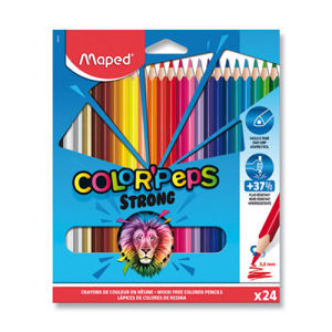 Pastelky Maped Color'Peps Strong - 24 barev