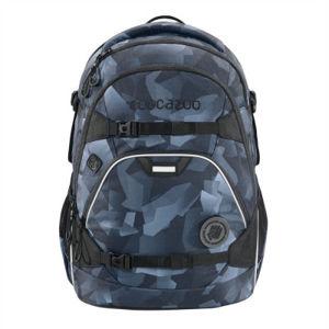 Školní batoh coocazoo ScaleRale, Grey Rocks, certifikát AGR + zdravá lahev za 1,- Kč