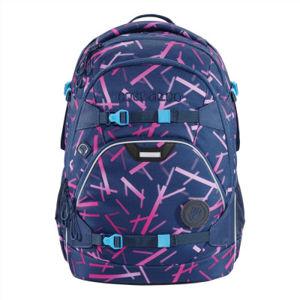 Školní batoh coocazoo ScaleRale, Cyber Pink, certifikát AGR + zdravá lahev za 1,-