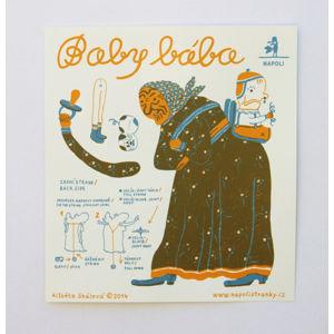 Baby bába - pohyblivá vystřihovánka
