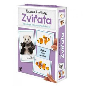 Naučné kartičky: Zvířata