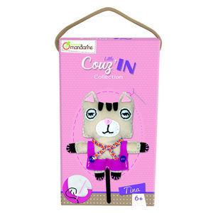 Dětské šití - kočička Tina