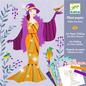 Výtvarná hra - Art deco iris folding - skládání papíru